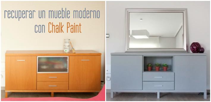 Recicla Con Chalk Paint O Cómo No Deshacerte De Un Viejo Mueble
