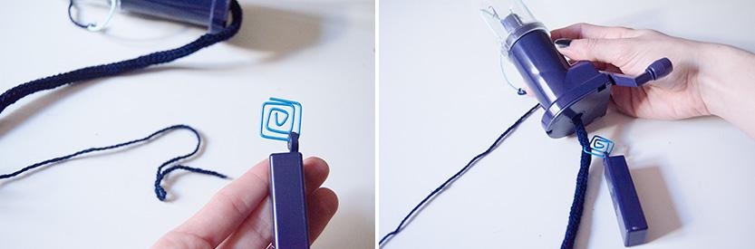 como crear cordones de colores tutorial