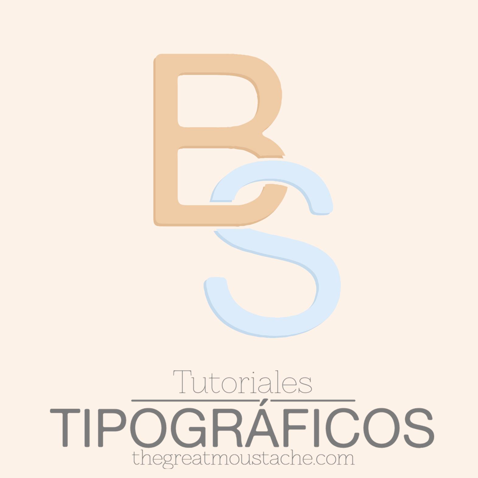 TUTORIALES THEGREATMOUSTACHE 2 - LETRAS ENTRELAZADAS