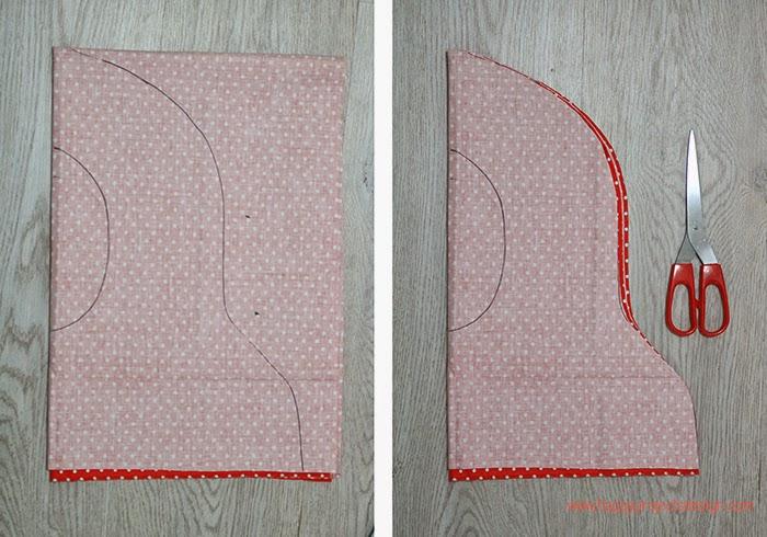 DISFRAZ DE MATRIOSKA DIY: el pañuelo
