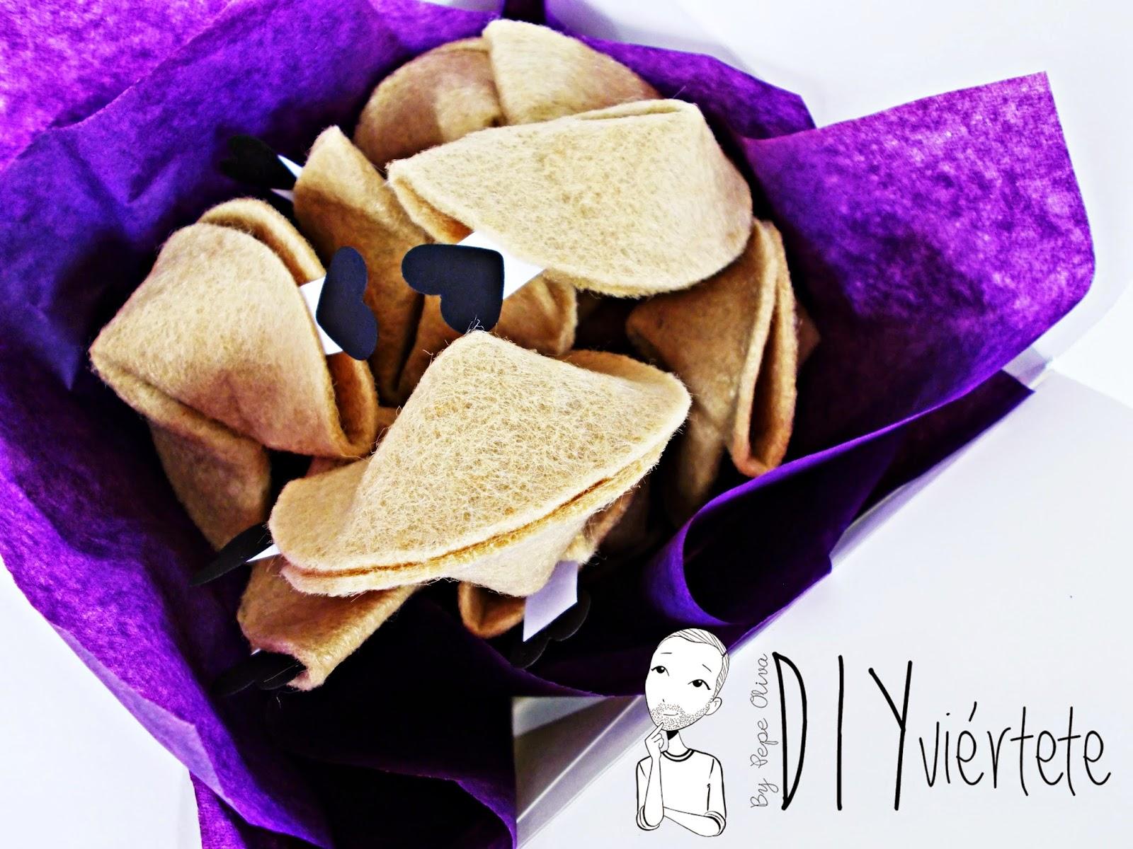 #BLOGERSANDO-diy-propósitos 2015-propósitos año nuevo-galletas de la fortuna-fieltro-papiroflexia-japonés-galletas de la suerte-deseos-2