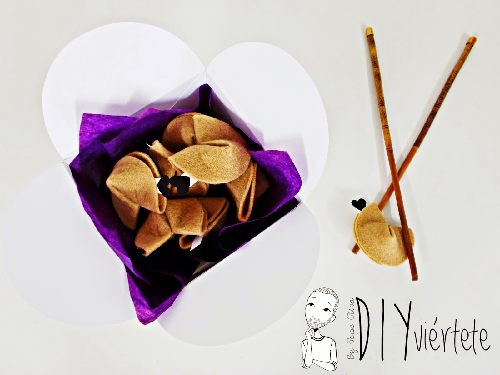 #BLOGERSANDO-diy-propósitos 2015-propósitos año nuevo-galletas de la fortuna-fieltro-papiroflexia-japonés-galletas de la suerte-deseos-10