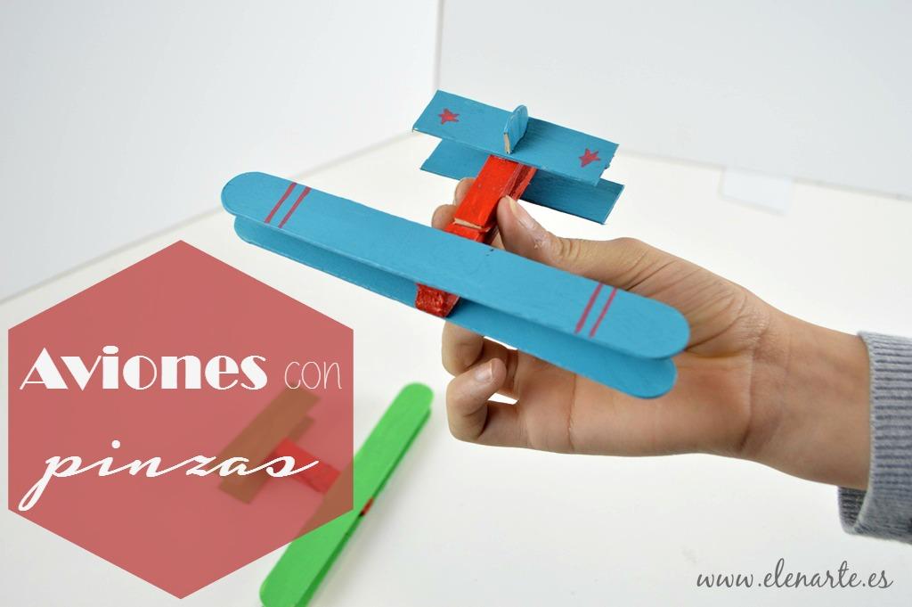 Aviones con pinzas