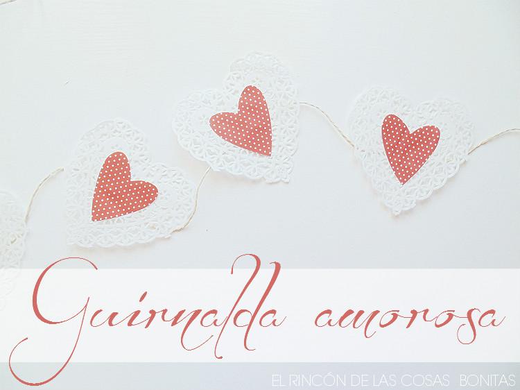 guirnalda de miniblondas con corazones