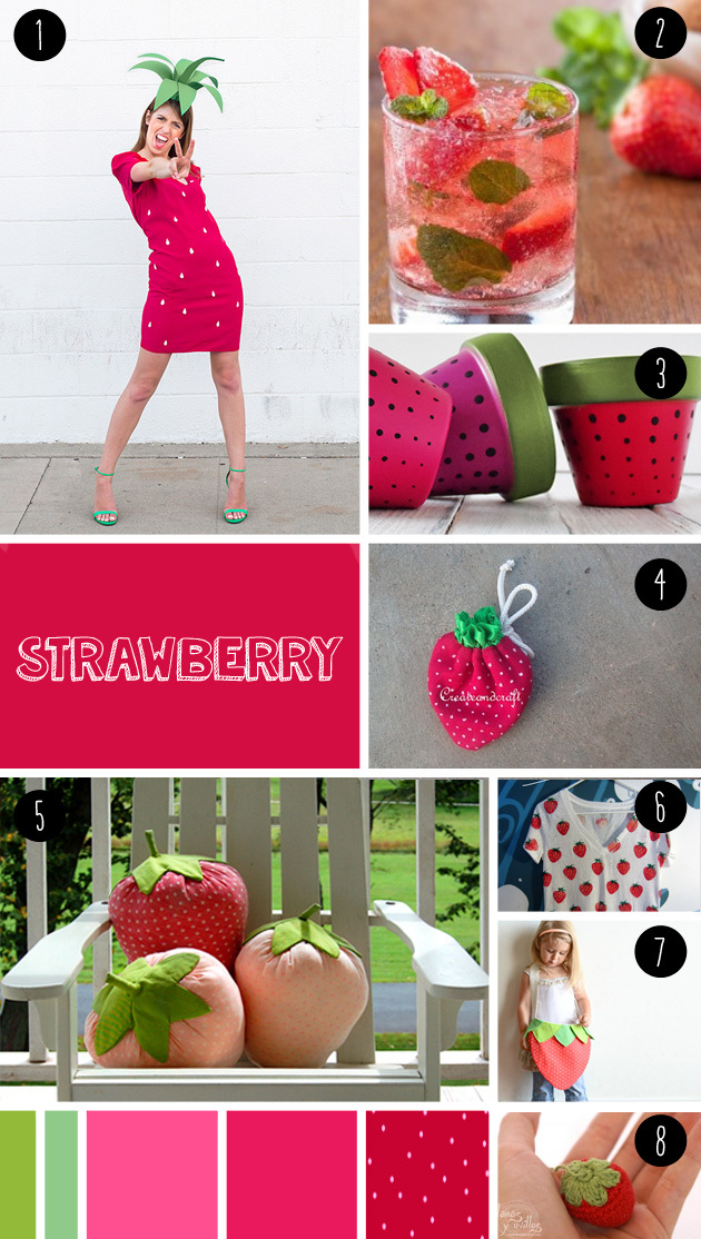 8 strawberry DIY seen at 'I am a mess'