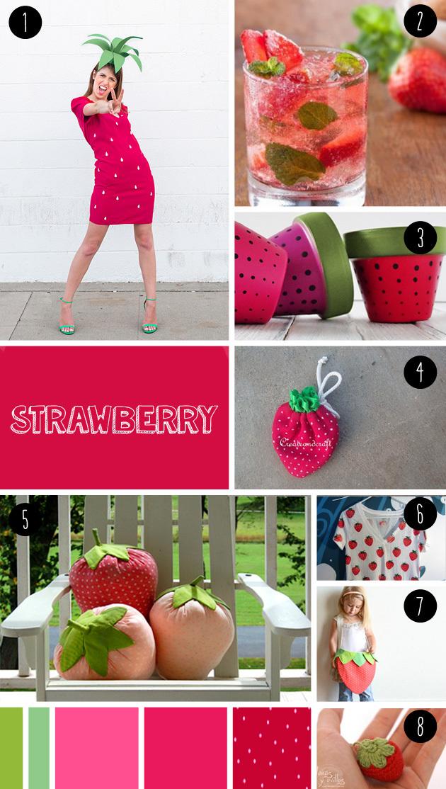 8 strawberry DIY seen at 'I am a mess'
