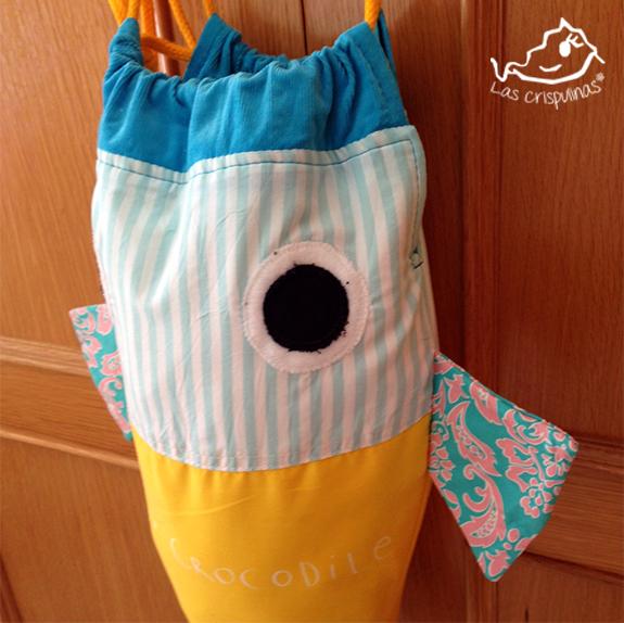 Bolsa pez para la ropa - Handbox Craft Lovers | Comunidad DIY ...