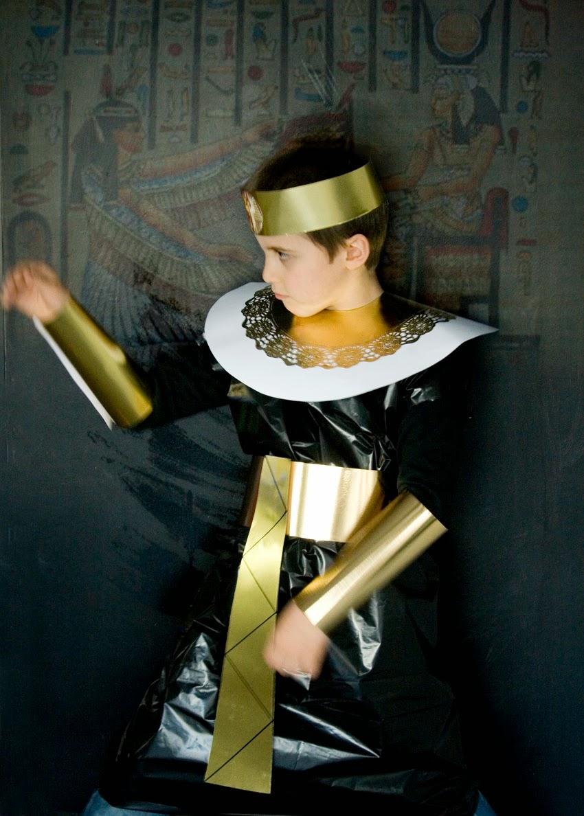 Tutorial disfraz de egipcio casero lowcost1