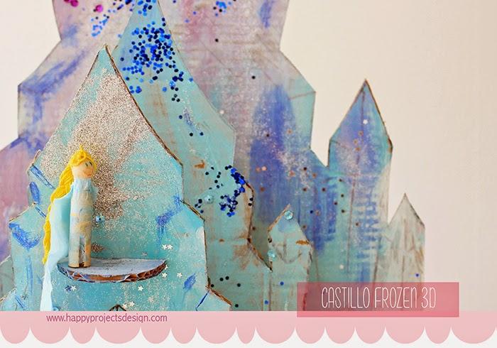 Castillo Frozen DIY en 3D