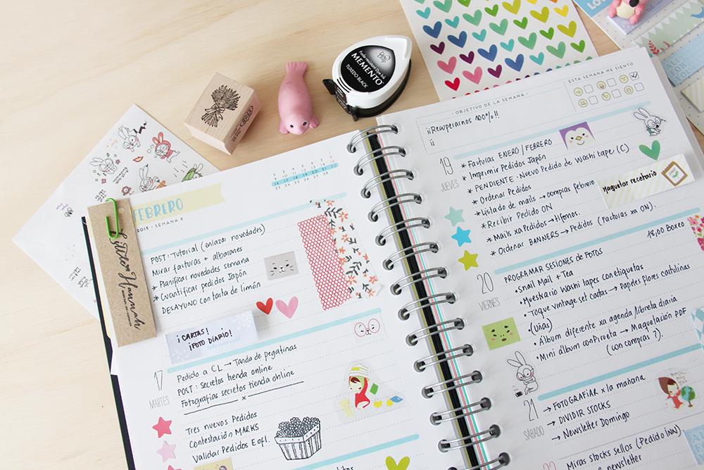 Craft Diaries De Vuelta A La Agenda Handbox