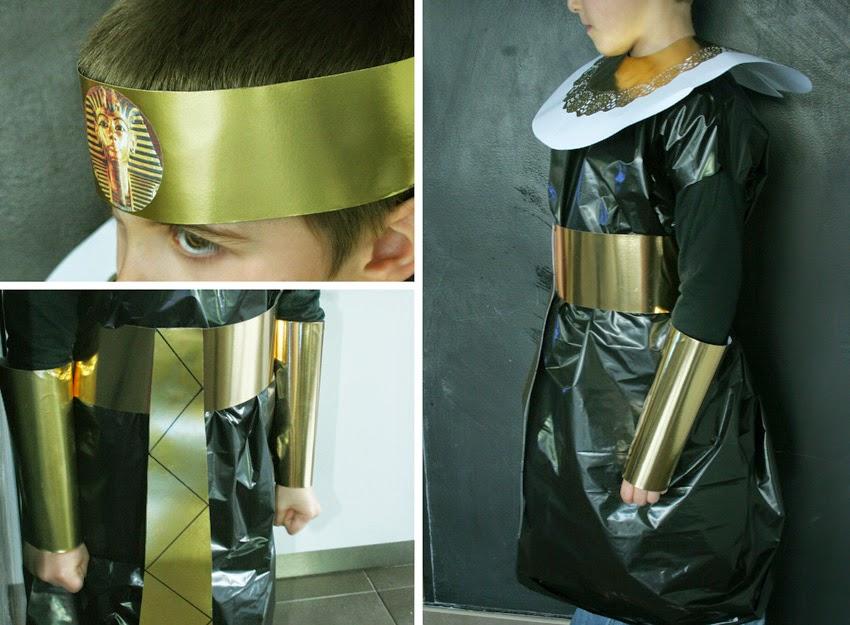 Tutorial disfraz de egipcio casero lowcost11