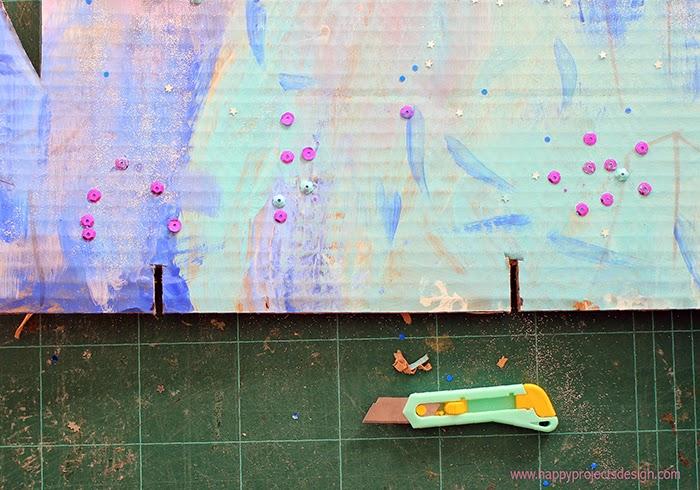 Castillo Frozen DIY en 3D: cortes para el montaje