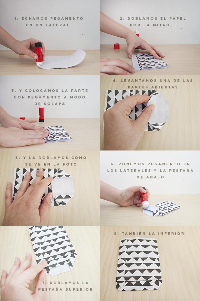 diy: bolsas de papel para regalos - Handbox Craft Lovers | Comunidad ...