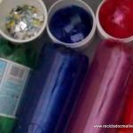 Traje de fallera valenciana con material reciclado (41)