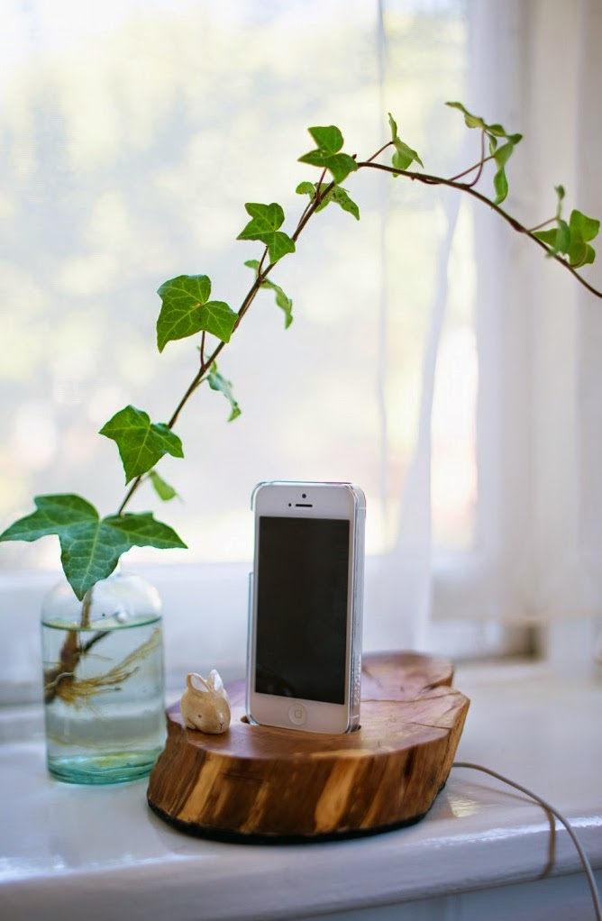 Reciclar - Base para móvil de madera handmade6