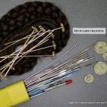 Agujas para el moño de fallera con material reciclado - Traje de valenciana #ecofallera