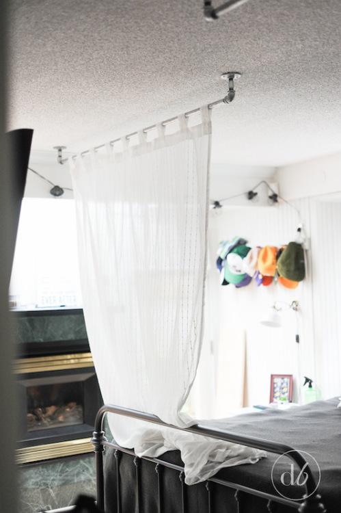 DIY piping canopy // Hazlo tú mismo: dosel con tubería // Casa Haus