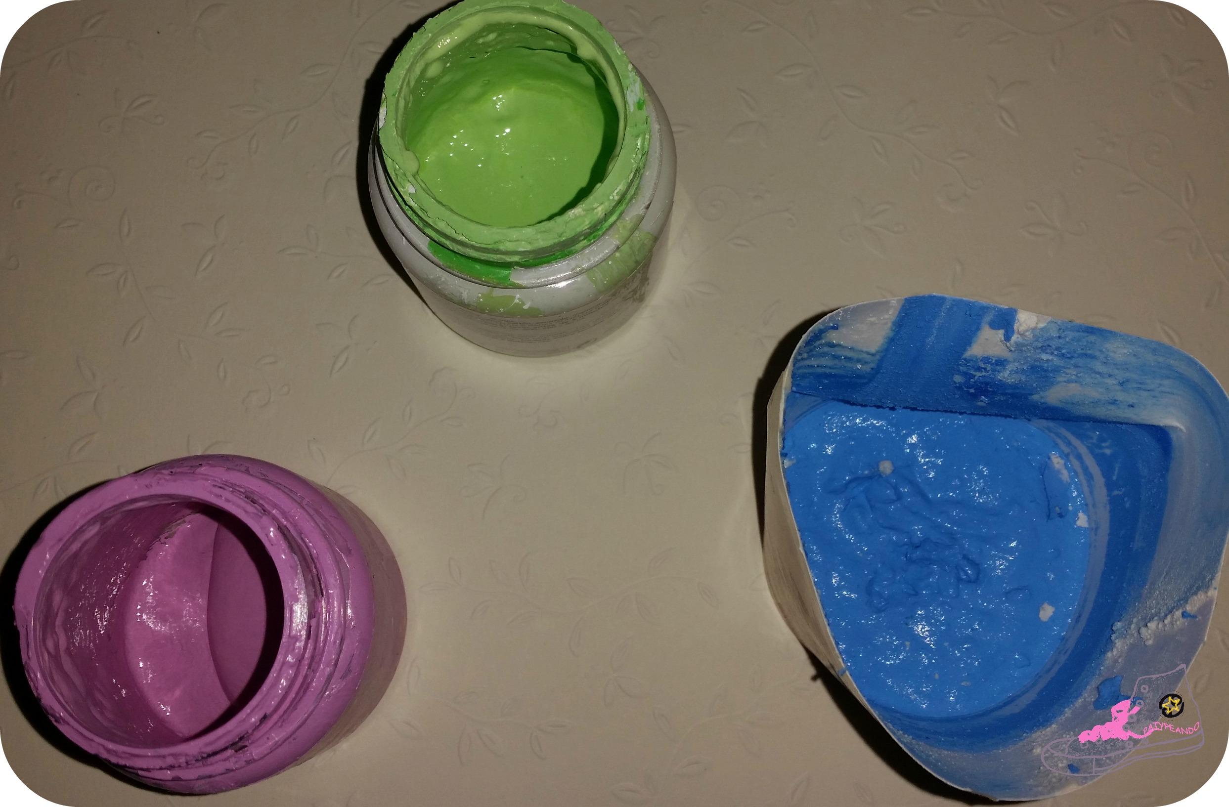 pintura chalk paint casera
