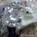 Traje de fallera valenciana con material reciclado (423)