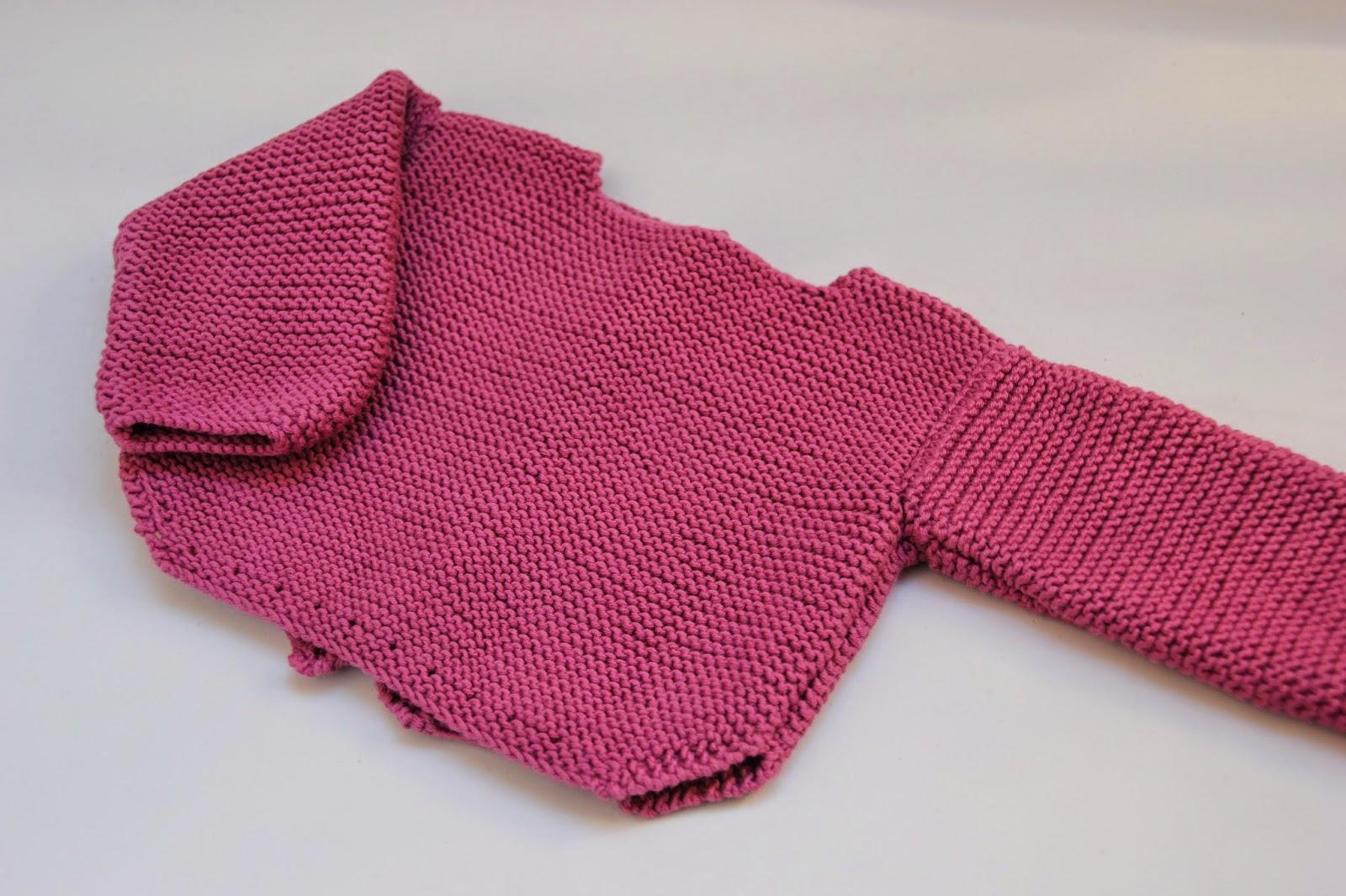 diy tejer sweater jersey bebe punto lana patrones gratis