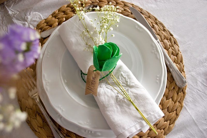 DiariodecoSpring: Diy flores con hueveras de cartón15