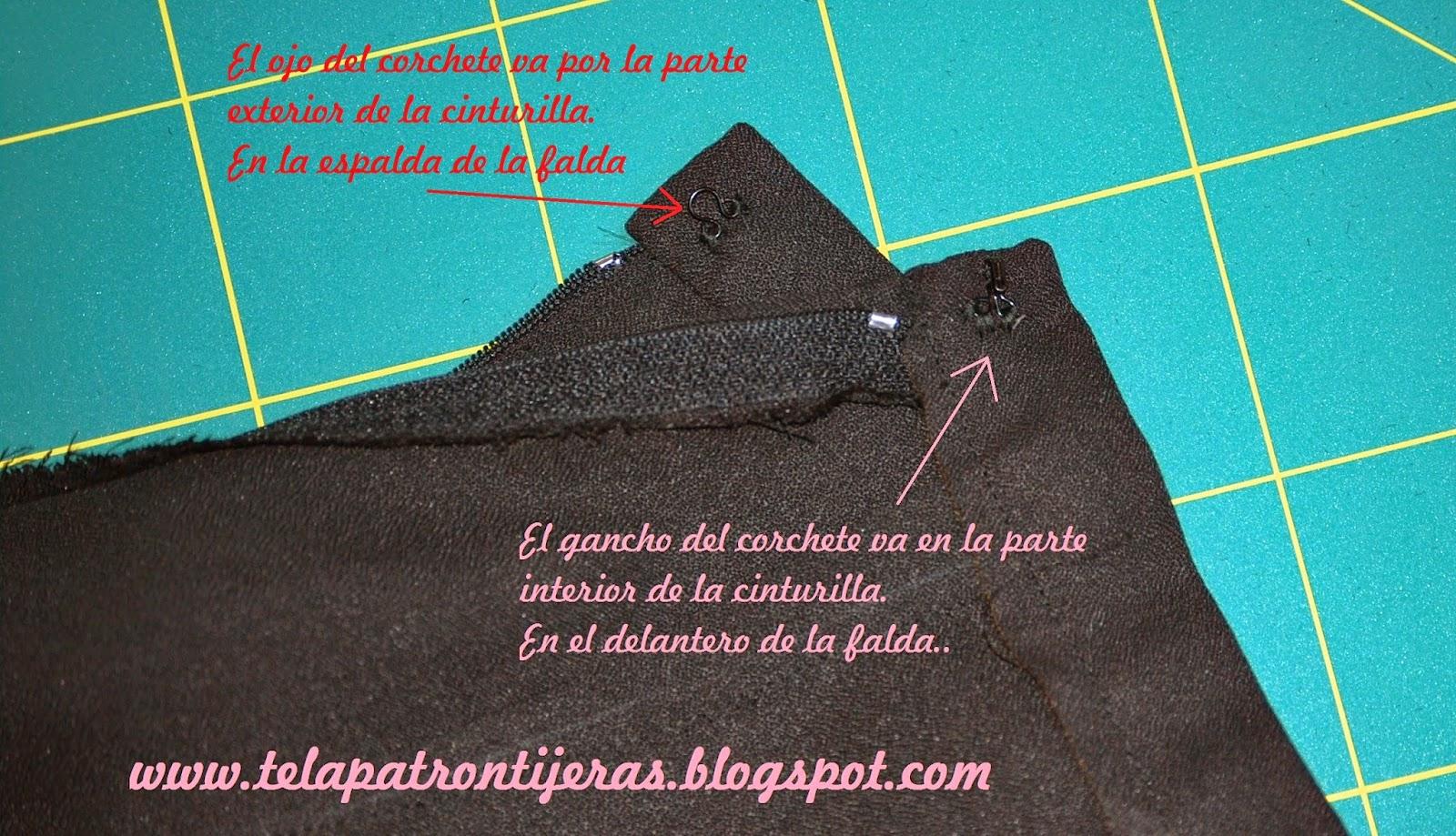 5816d944c Falda larga con apertura lateral - un DIY elegante - HANDBOX