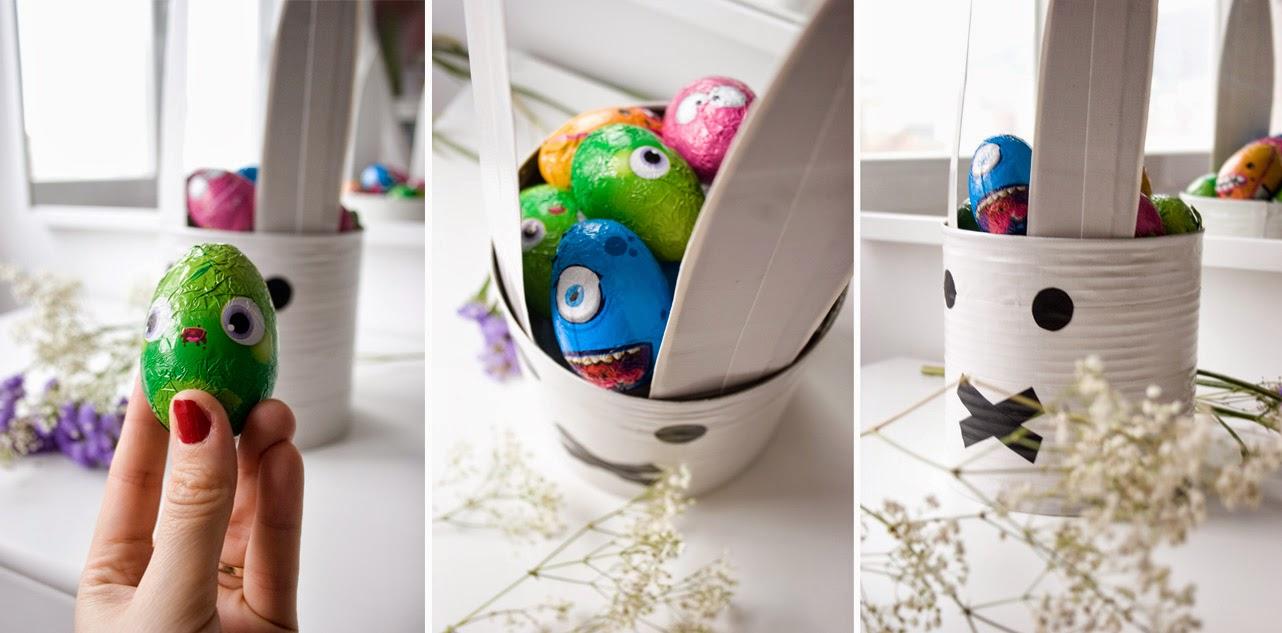 Taller de creactividad: Diy conejo para lo huevos de Pascua en una lata8