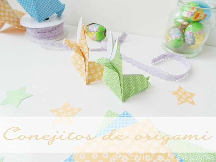 conejitos de origami o papiroflexia
