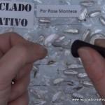 Traje de fallera valenciana con material reciclado (42)