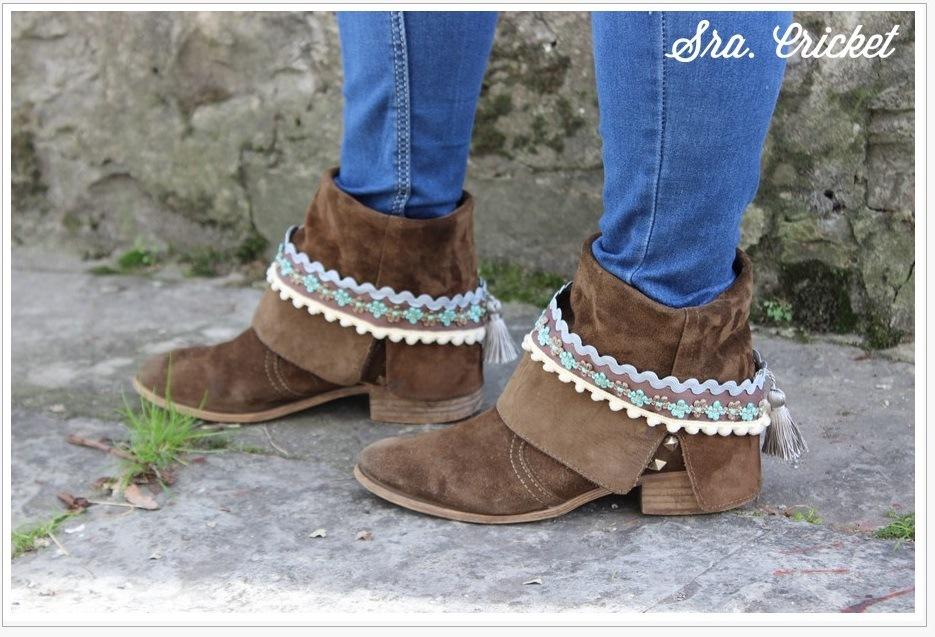 adornos para botas