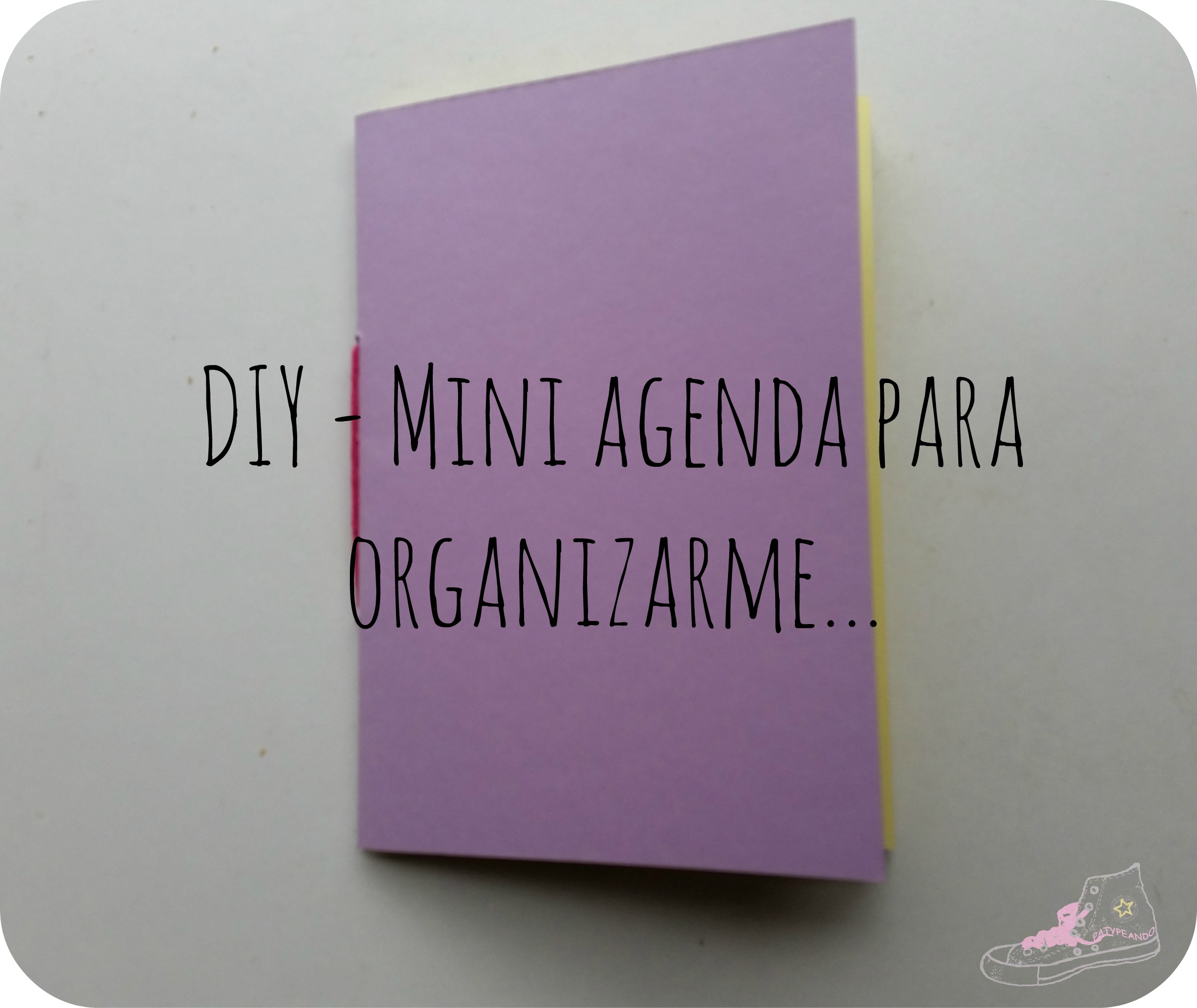 mini agenda para organizarme