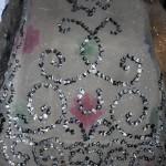 Traje de fallera valenciana con material reciclado (451)