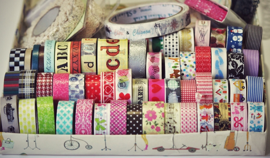 coleccion de washi tape