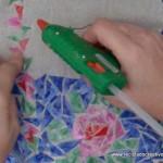 Traje de fallera valenciana con material reciclado (47)