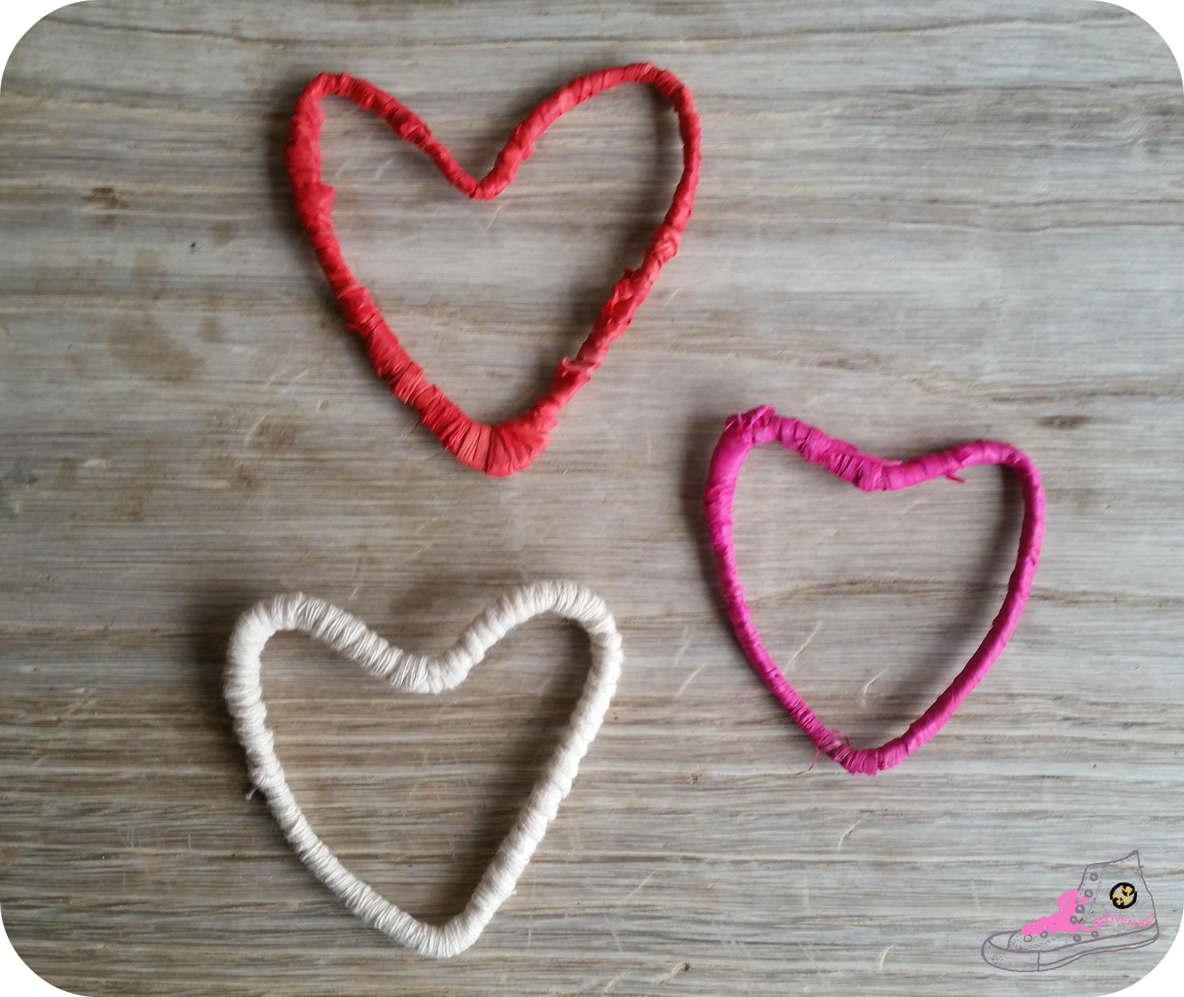 corazones de alambre