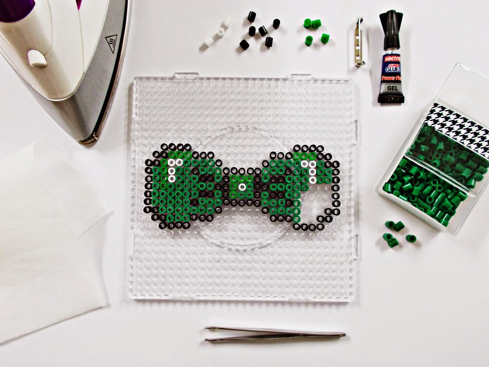 DIY-pajarita-tie bow-hama beads- DoItYourself-idea-moda-broche-2