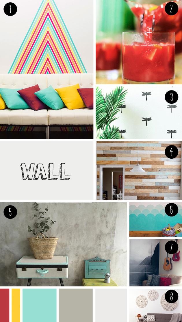 8 wall DIY seen at