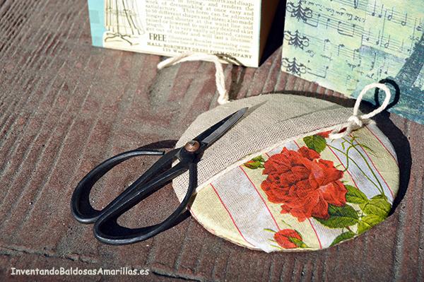 Servilleta de flores para decorar tela