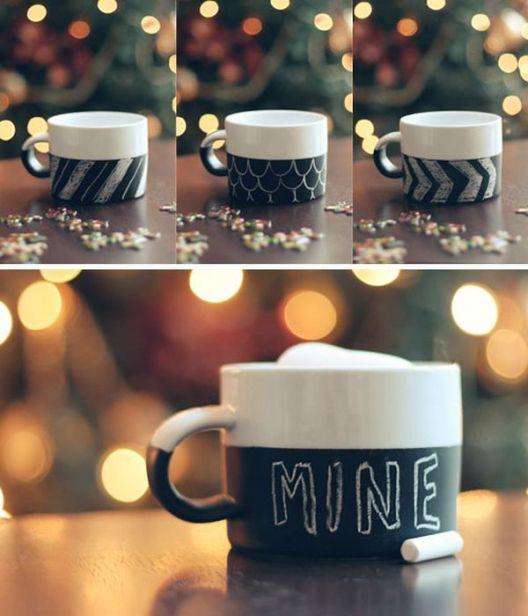 taza con chalkpaint