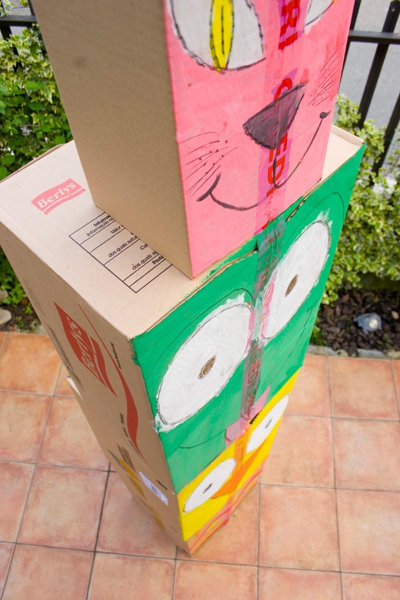 Taller de creactividad: Diy totem de cartón10