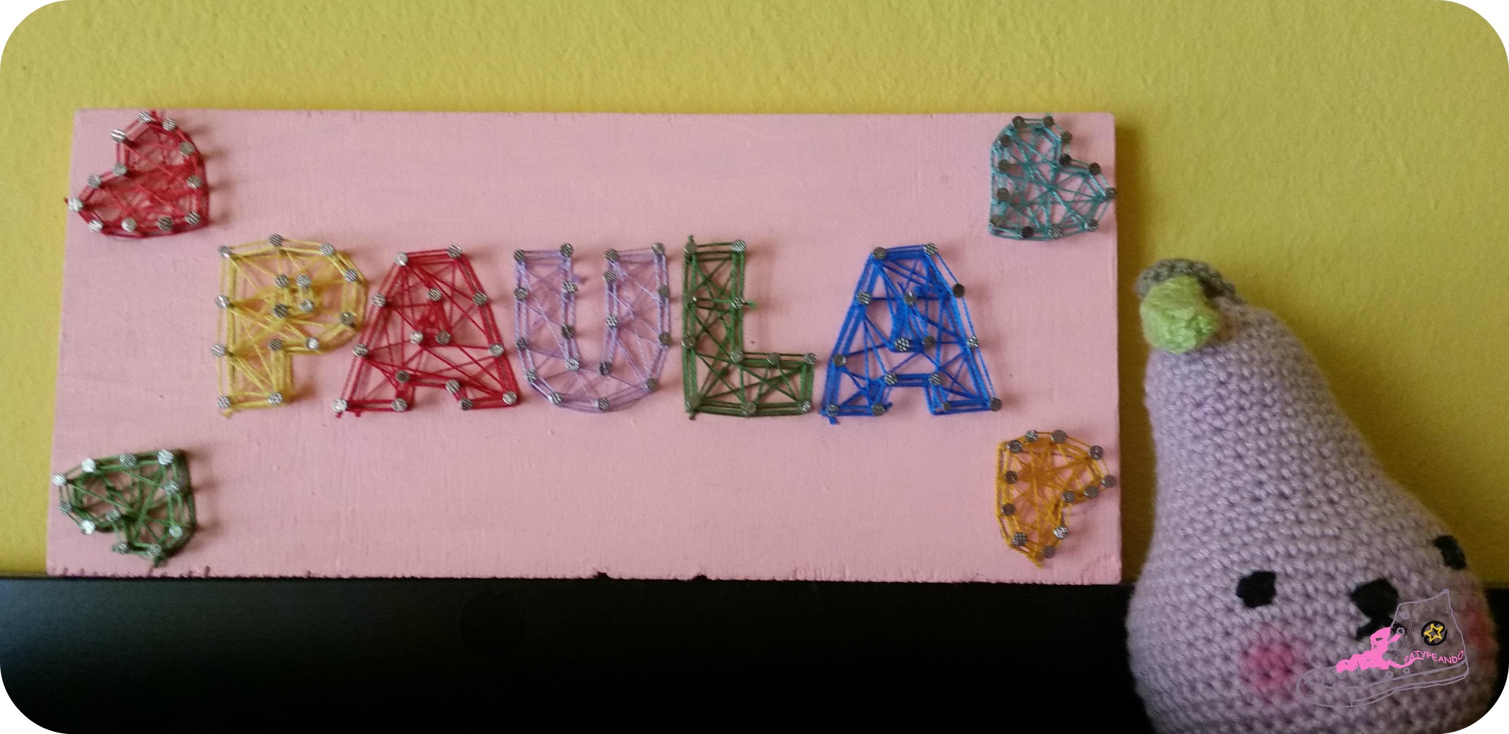 string art Paula