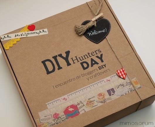 Diy hunters day. El packaging de bienvenida
