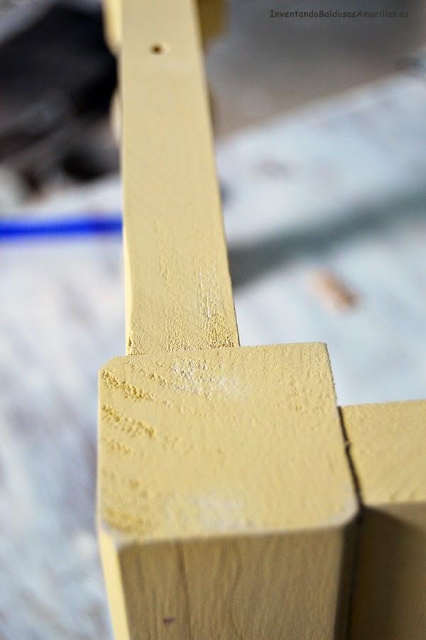 tutorial decapado muebles madera envejecido