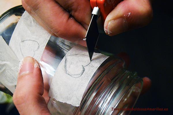 cinta carrocero pintar cristal