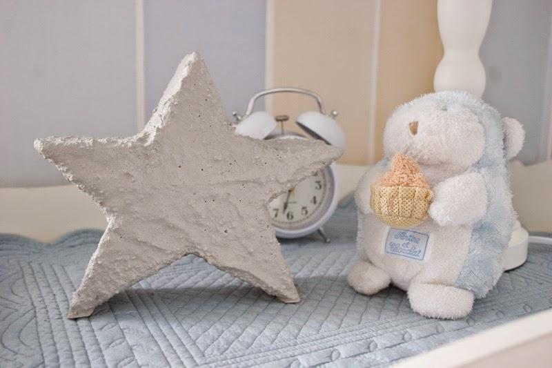 Diy estrella de cemento con espuma floral | DEF Deco - Decorar en familia3