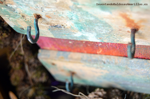 Cómo darle un efecto oxidado a la madera