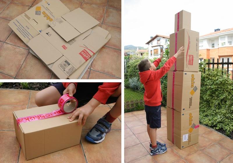 Taller de creactividad: Diy totem de cartón2