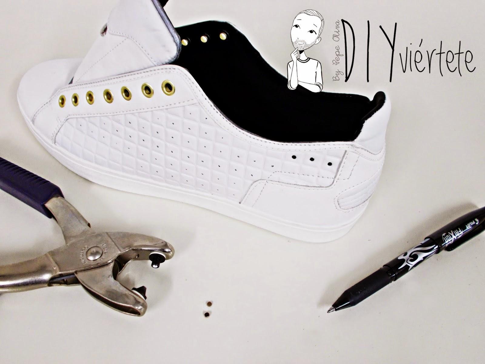 DIY-zapatillas-tunear-customizar-CHRISTIAN-LOUBOUTIN-zapatos-pinchos-esmaltes-pinta uñas-colores-7
