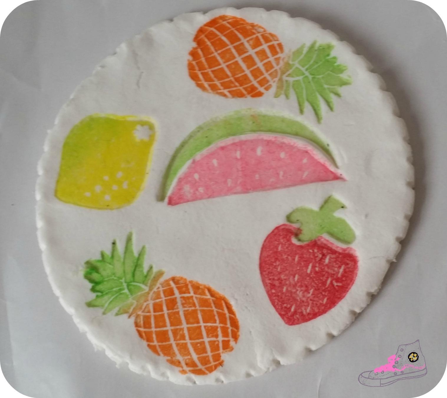 posavasos frutal