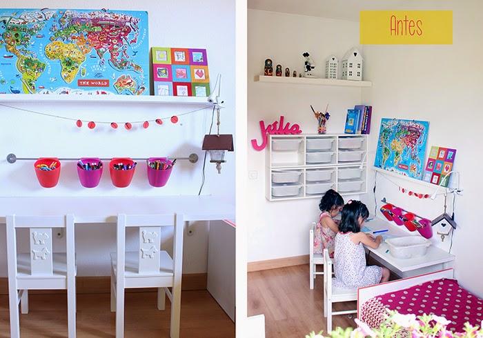 habitación para niñas DIY
